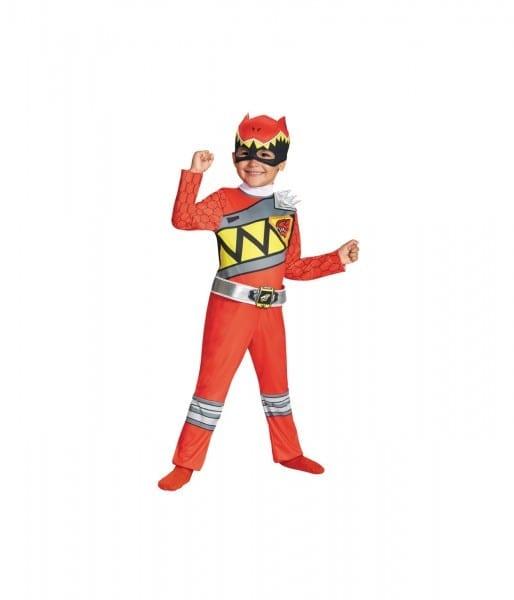 Power Rangers Dino Thunder Red Boys Costume