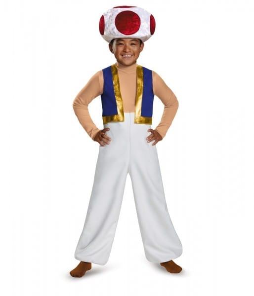 Toad Boys Super Mario Costume