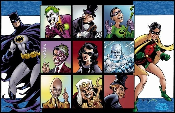 Villains Of Batman 66 By Neil Vokes And Smith, In Tom Smith 27