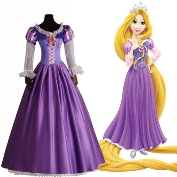 Aliexpress Com   Buy Brand New Adult Rapunzel Fancy Dress For