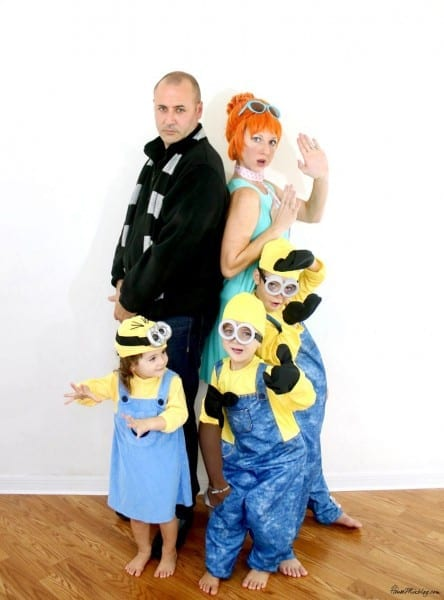 Family Halloween Costume  Despicable Me