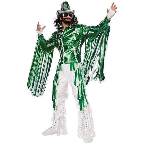 Macho Man Randy Savage Costume Adult Wwe Wrestler Halloween Fancy