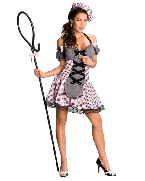 Women's Deluxe Little Bo Peep Adult Costume