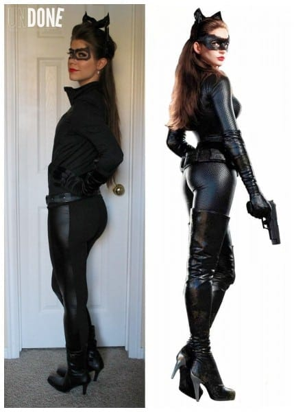 Undone  Diy Catwoman Costume {daily Diaries}