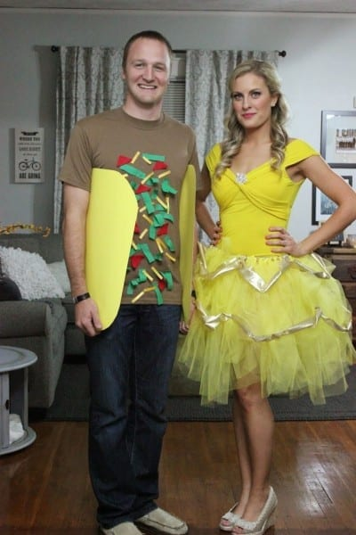 Cheap And Easy Halloween Costumes For Couples Ideas