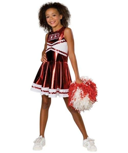 Cheerleader Kids Costume