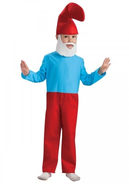 Child Papa Smurf Costume