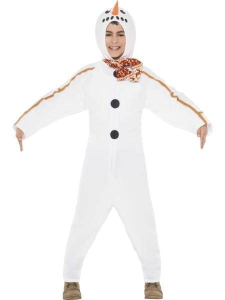 Child Snowman Onesie Costume