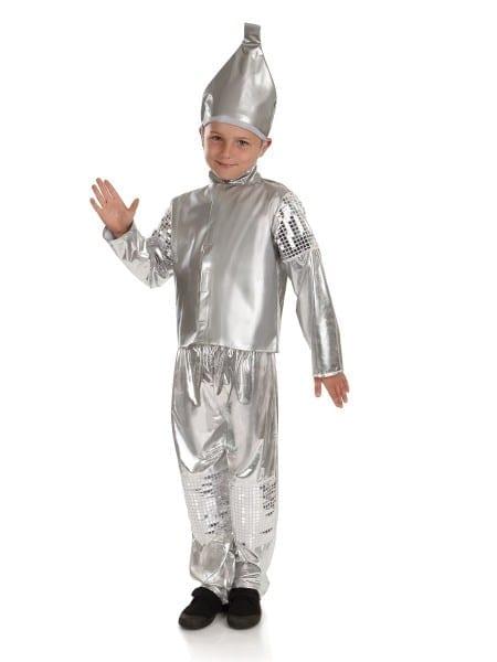 Kids    Kids Tv And Film Fancy Dress    Child Tin Man Costume