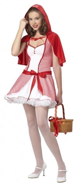 48 Little Red Riding Hood Halloween Costume Teenager, Little Red