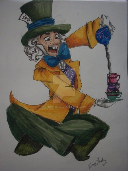 Classic Mad Hatter By Shay118 On Deviantart