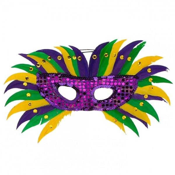 Pgg Burst Feather Mask []