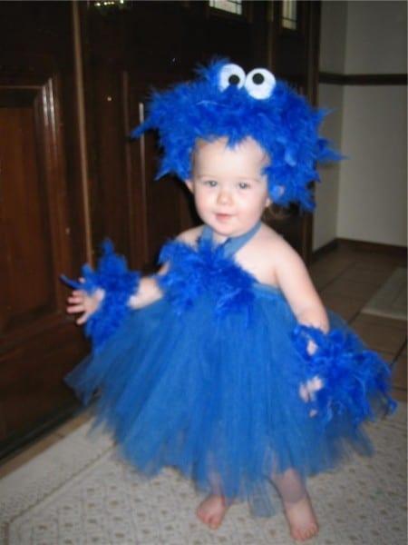 Baby Cookie Monster Costume Sesame Street  Halloween Costume Baby