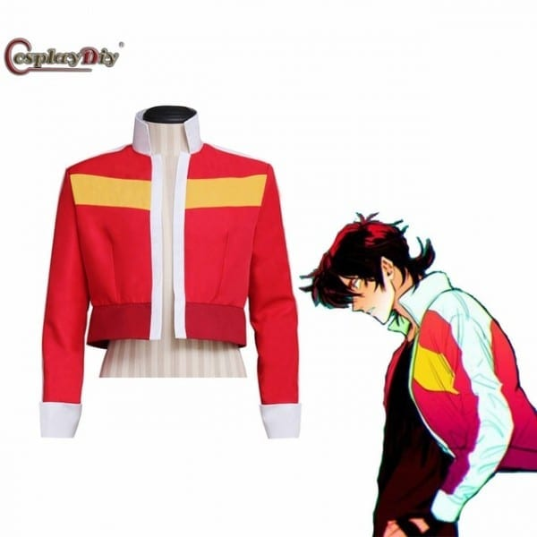 Cosplaydiy Custom Made Voltron Legendary Defender Keith Red Jacket