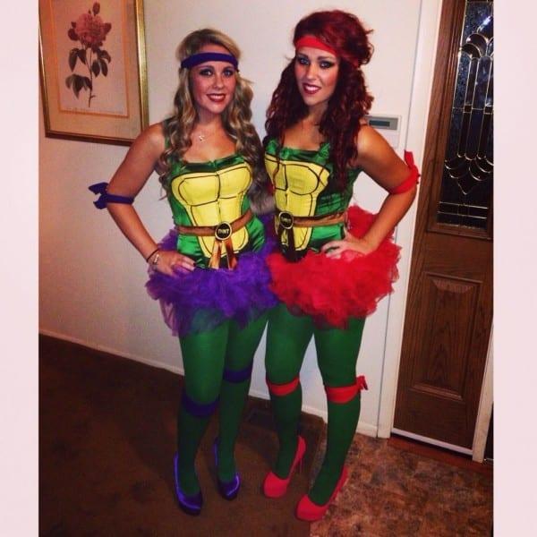 Tmnt Teenage Mutant Ninja Turtle Womens Costume Tutu Sister
