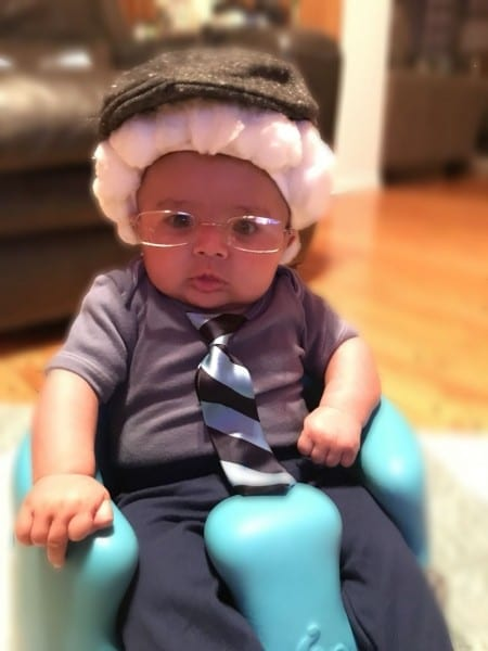 Little Old Man Baby Costume