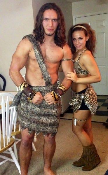Tarzan And Jane Diy Costumes!!  )