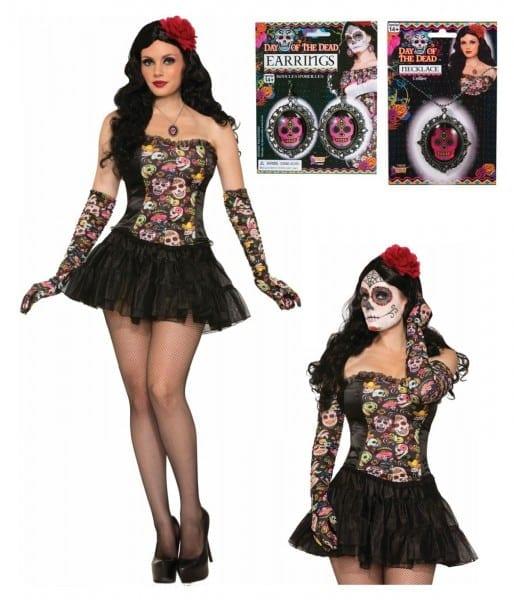 Day Of The Dead Senorita Costume Kit
