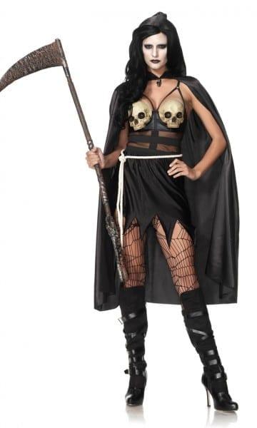 Death Dealer Zombie Queen Halloween Costume