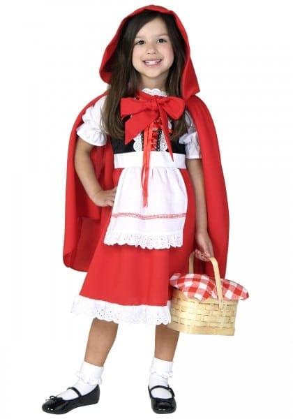 Red Riding Hood Halloween Costumes For Tweens