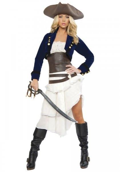 Female Pirate Halloween Costumes