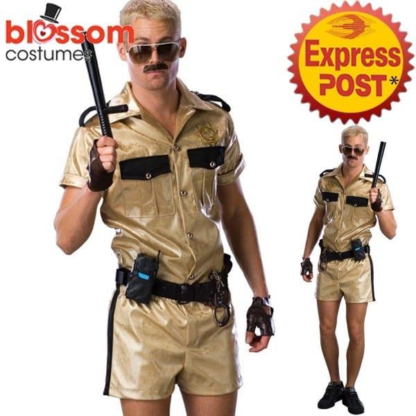 Ca570 Reno 911 Deluxe Lt  Dangle Funny Mens Costume Fancy Dress Up