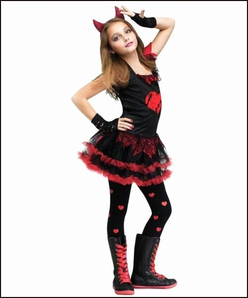 Devil Halloween Costumes For Tweens Best Satan Halloween Costume