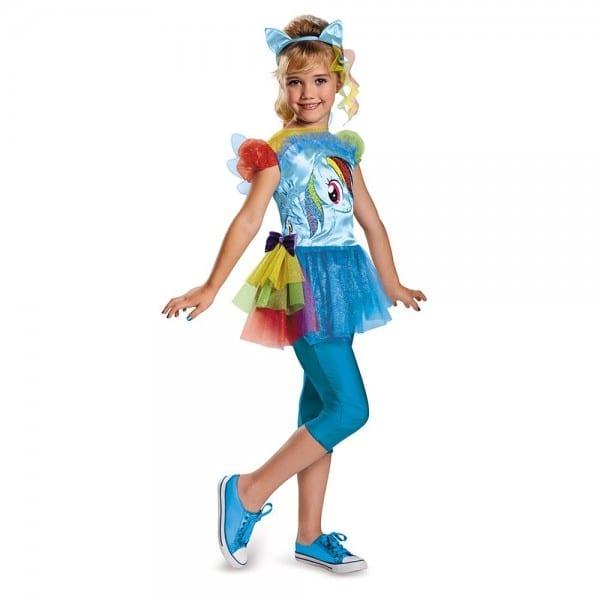 Kids Rainbow Dash Girls Costume
