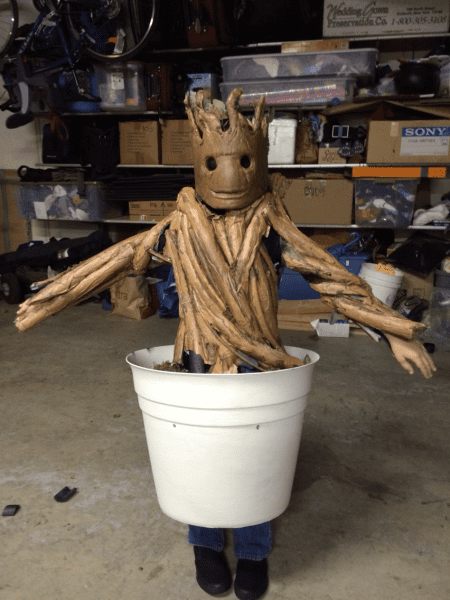 Made My Son Baby Groot For Halloween 2014  More In Comments   Pics