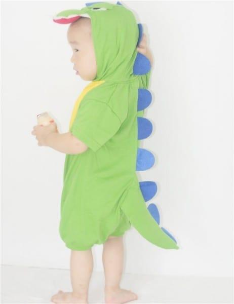 Dino Romper Costume Halloween Costume 0 2years Infant Baby Romper