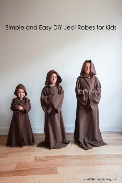 Diy Jedi Robe For Kids