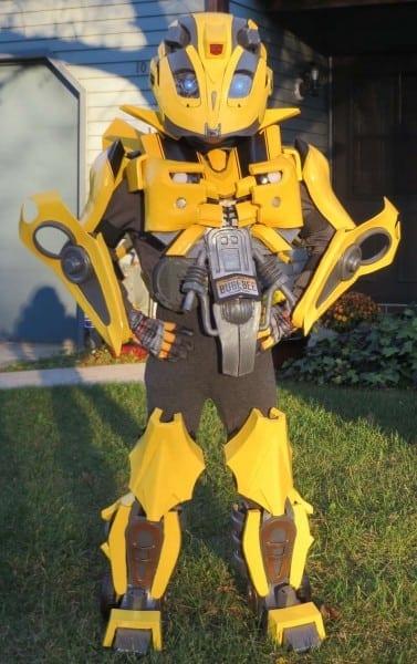 Epic Diy Kids Bumblebee Transformers Costume
