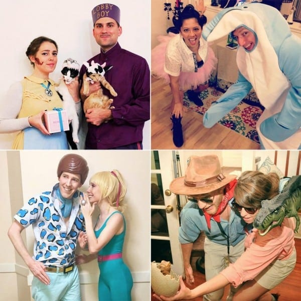 Diy Movie Couples Costumes