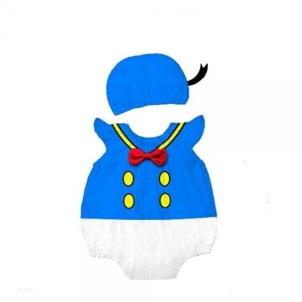 Donald Duck Outfit Baby Luna Boutique