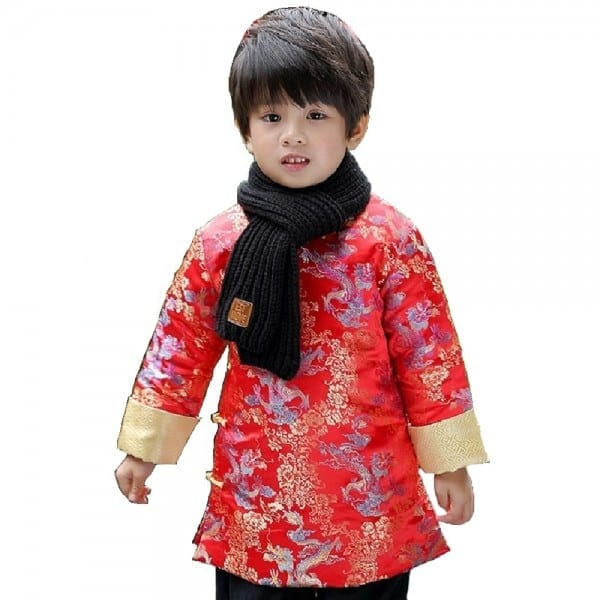 Dragon Baby Boys Coat Tang Clothes Chinese Spring Festival