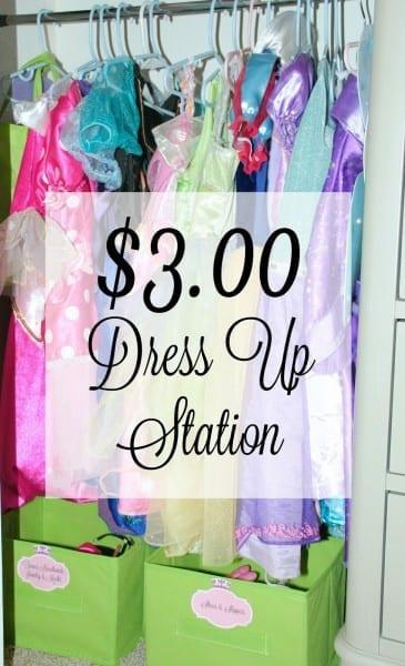 $3 00 Dress Up Station & Toddler Dream Room!  Inspirebigdreams  Ad