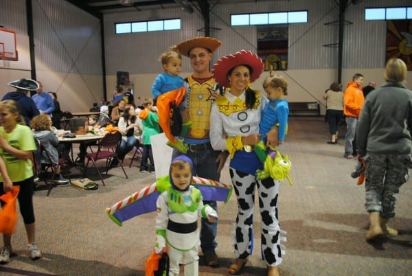 The Acree Family  Happy Halloween~toy Story Style