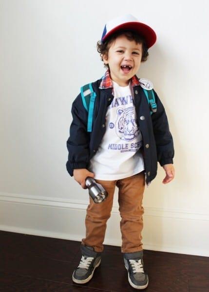 Diy Halloween Costume For Littles – Dustin, Stranger Things