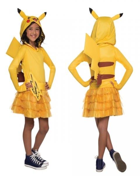 Pokemon  Girls Pikachu Hoodie Dress