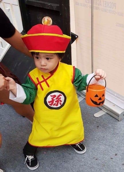 Gohan Halloween Costume Baby