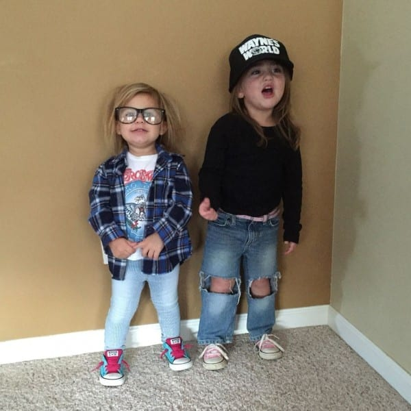 Parenting Done Right  Halloween  Wayne's World  Funny Toddler