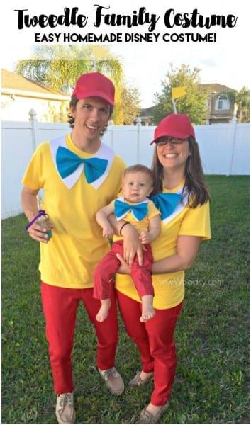 Easy Tweedle Family Costume