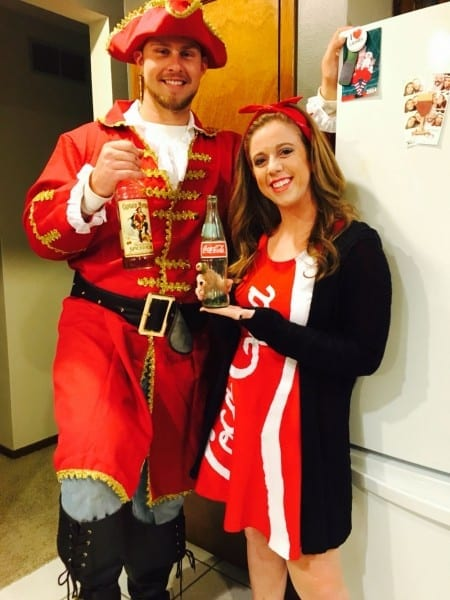 Captain Morgan And Coke Costume