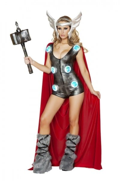 6 Thor Costumes For Women That Will Electrify Your Halloween Party