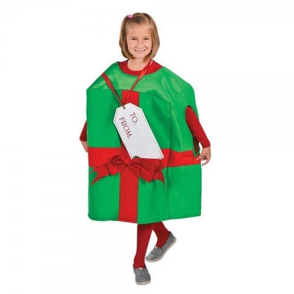 Christmas Present Halloween Costume For Kids