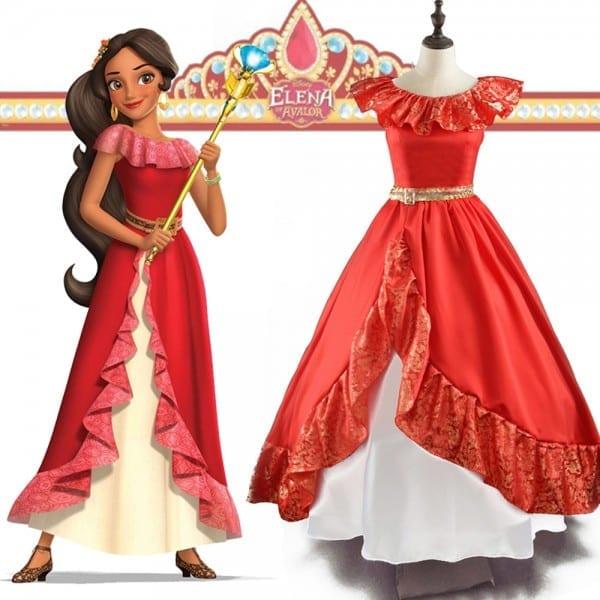Elena Of Avalor Princess Elena Dress Up Elena Cosplay Costume