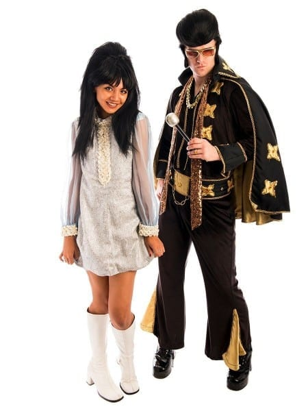Elvis And Priscilla Presley Couple Costume