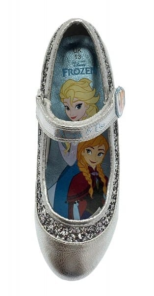 Disney Kids Girls Frozen Dress Up Shoes Glitter Princess Anna Elsa