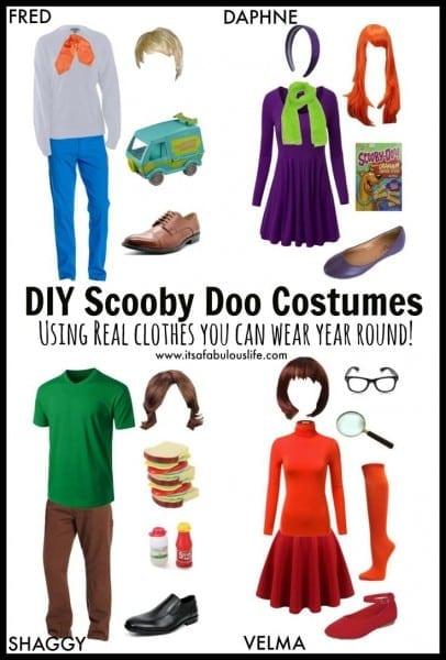 Group Halloween Costume Ideas  Diy Scooby