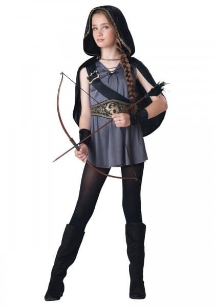 Fabulous Arrowen Costume Picture Ideas Girls Hooded Huntress For